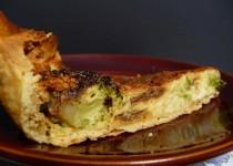 Tarte aux brocolis et au gorgonzola