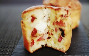 Muffin a la provencale, recette estivale réalisée par Malicia Flore