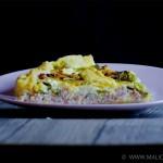 Recette quiche aux asperges vertes et jambon 4 par Malicia Flore