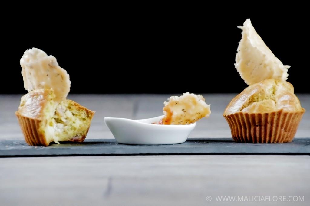 Recette de muffin au brocolis et chèvre par MaliciaFlore