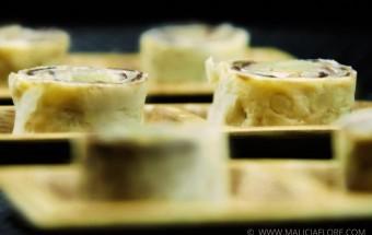 Recette de makis à l'ananas, riz au lait et chocolat par Malicia Flore