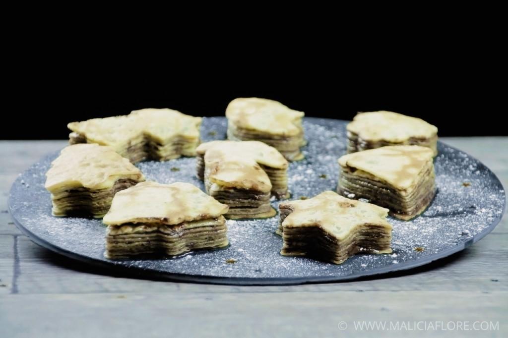 Gâteau de crêpes au Nutella 5