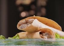 Fajitas au poulet et champignons