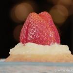 Tartelettes aux fraises sur sablés Breton