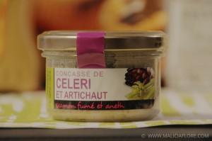 Eat Your Box de mai 2013 - Concasse Celeri - Artichaut - Saumon