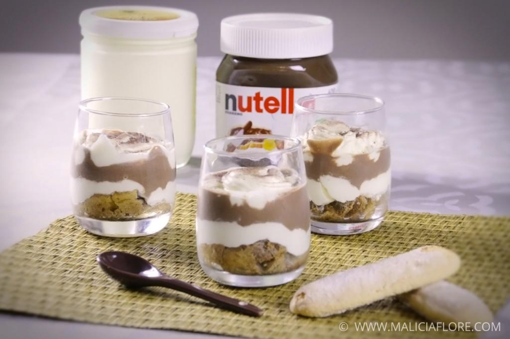 Tiramisu au Nutella