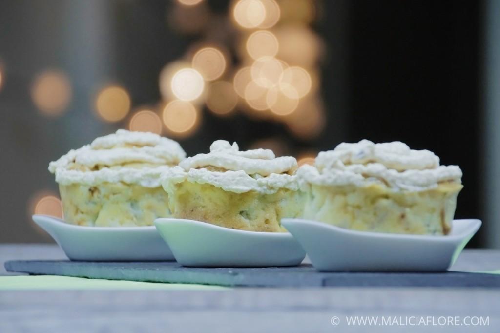 Muffins artichaut, tomate séchée et jambon cru Forêt Noire