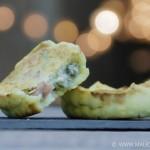 Tartelette artichaut roquefort et jambon blanc