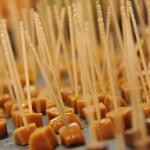 Sucettes au caramel - Salon SAVEURS