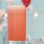 Cocktail vitaminé fraise - banane - orange sanguine