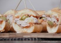 Mini-sandwich viennois au thon